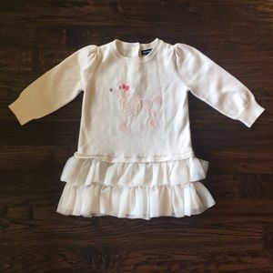 Baby Gap Poodle Sweater Dress